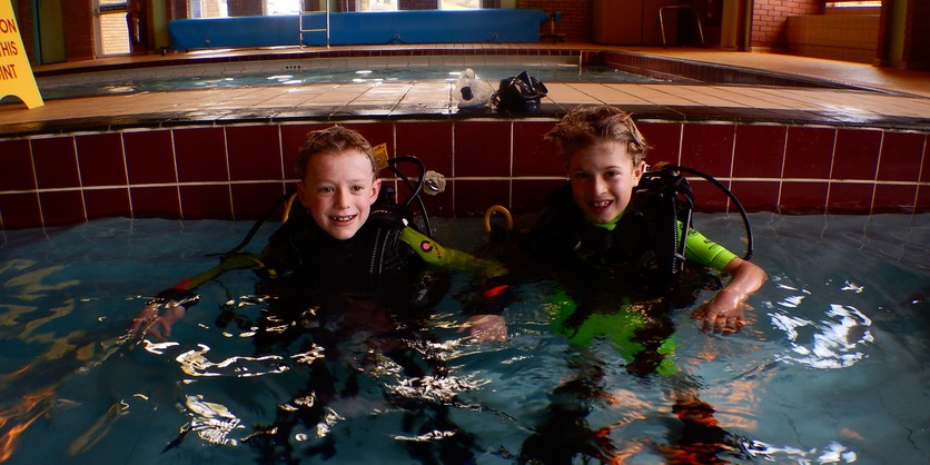 Discover Scuba Diving Pool Training North Devon