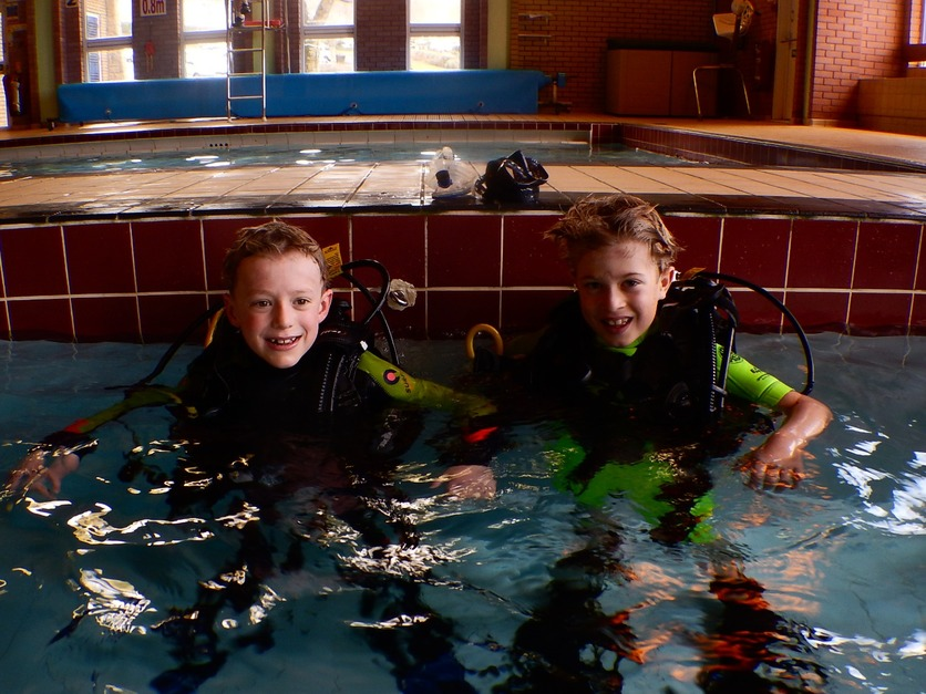 Kids Learn to Scuba Dive North Devon