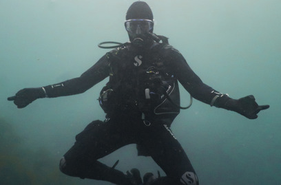 Underwater Diver Easy Divers North Devon